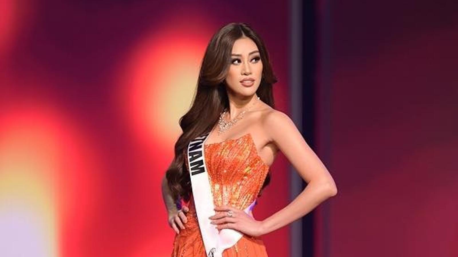 Hoa hậu Khánh Vân lọt Top 20 Miss Grand Slam 2020