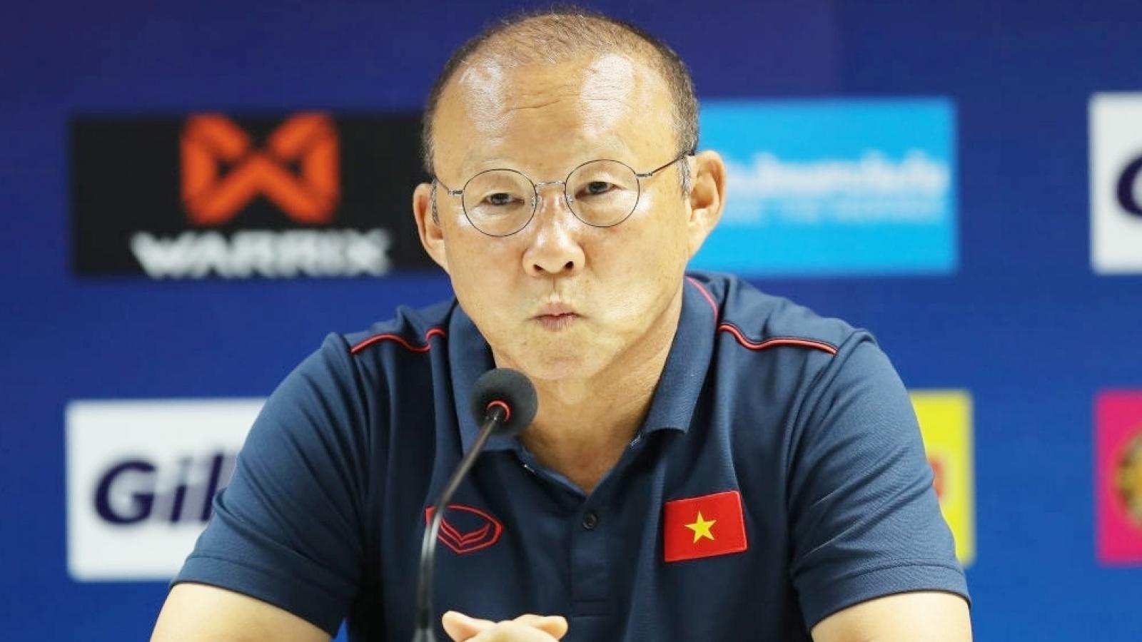 HLV Park Hang Seo giải thích lý do ĐT Việt Nam liên tục bị phạt 11m