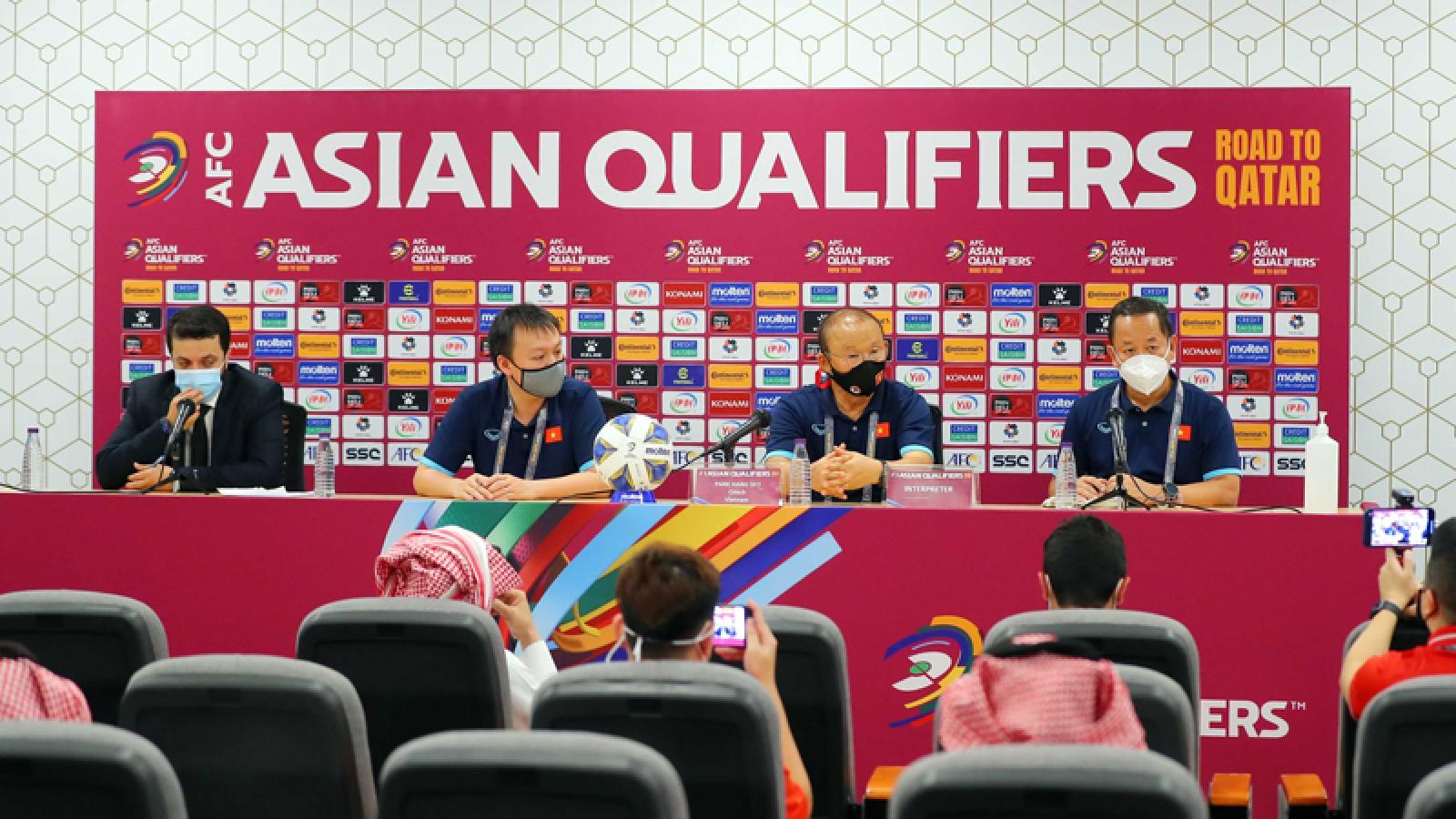 HLV Park Hang Seo tiếc nuối khi ĐT Việt Nam thua ngược Saudi Arabia