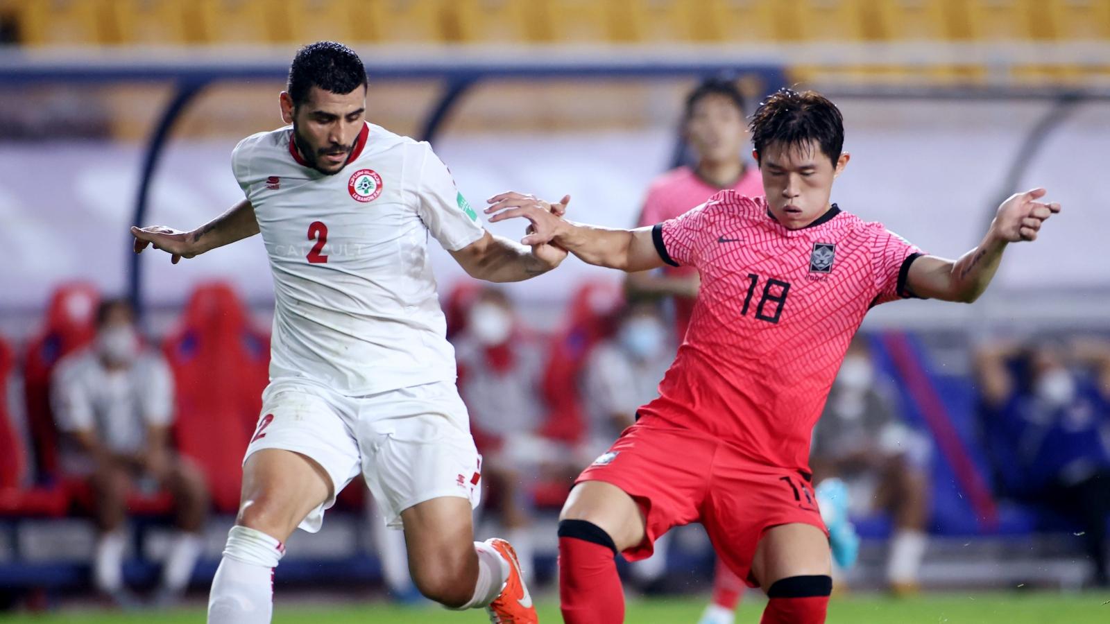 Son Heung Min vắng mặt, Hàn Quốc thắng nhọc Lebanon ở vòng loại World Cup 2022