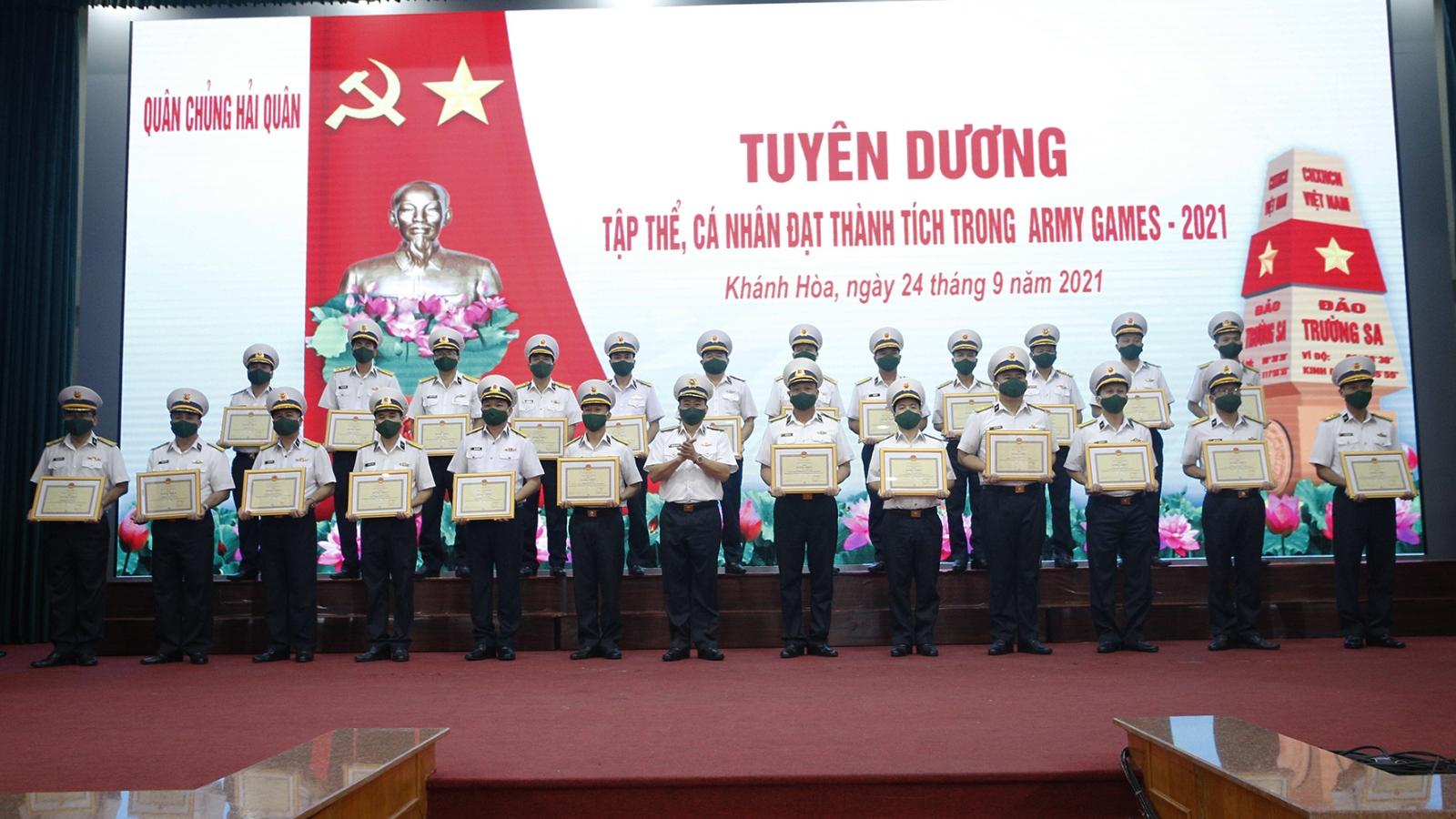 Thành tích ở Army games 2021 khẳng định khả năng làm chủ vũ khí của Hải quân Việt Nam