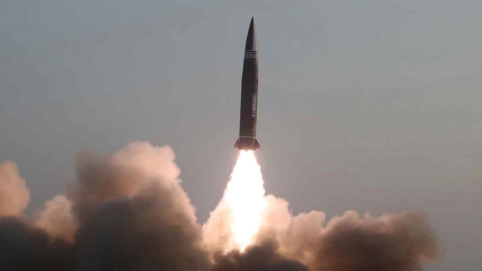 Triều Tiên bất ngờ thử nghiệm tên lửa hành trình tầm xa mới