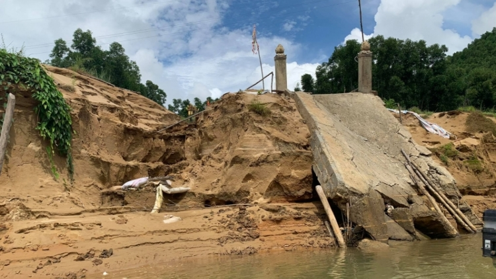 Nỗi lo sạt trượt ở các công trình thủy điện ở Thừa Thiên Huế