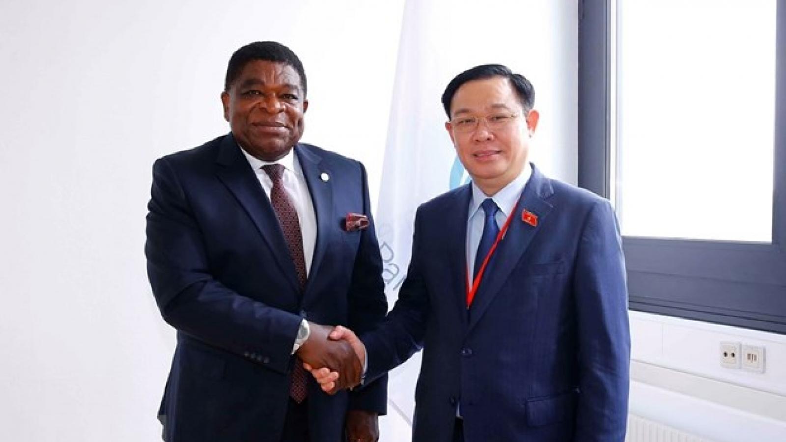 NA Chairman receives IPU Secretary General