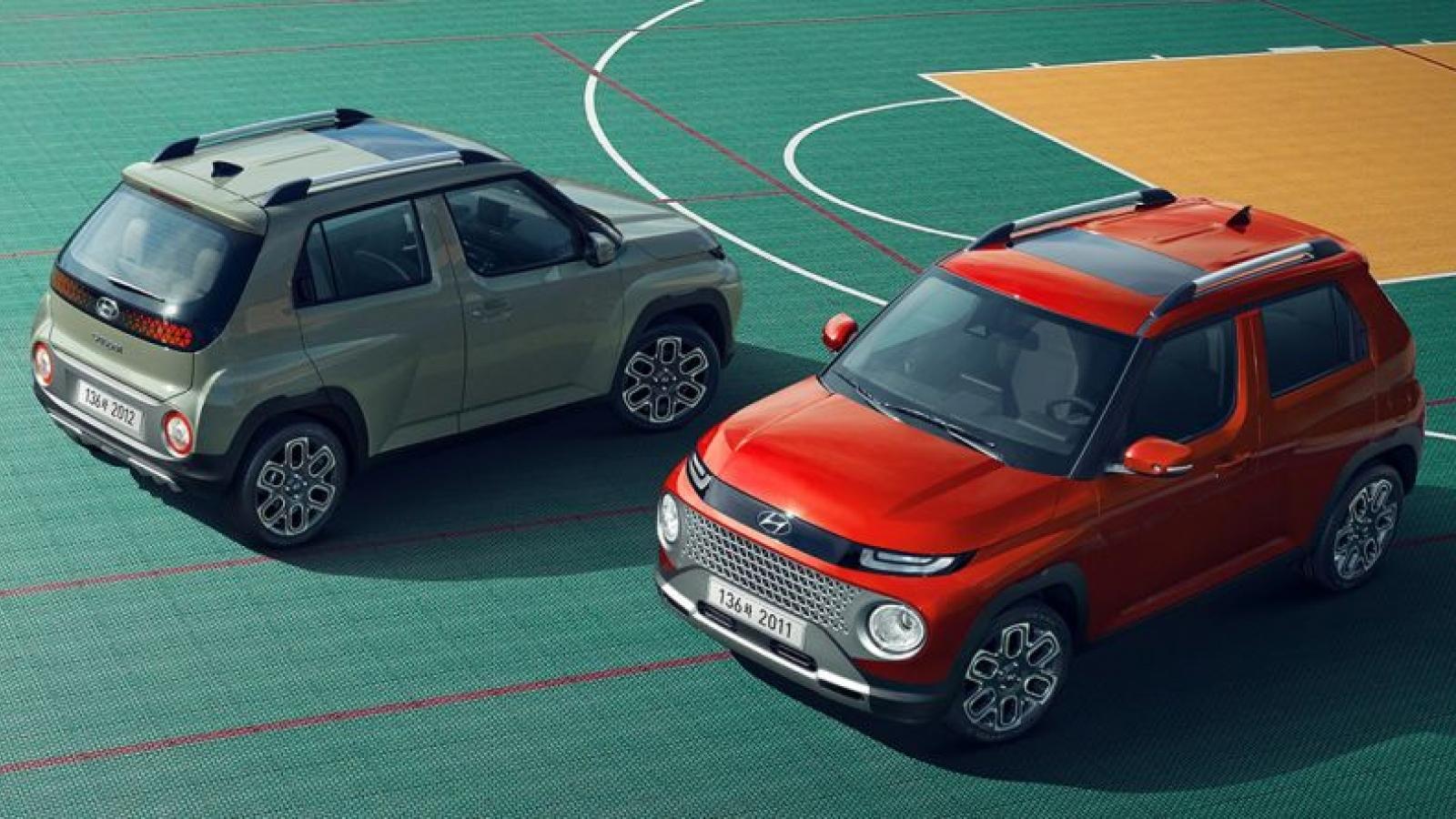 Lộ diện mẫu SUV của Hyundai nhỏ hơn Venue