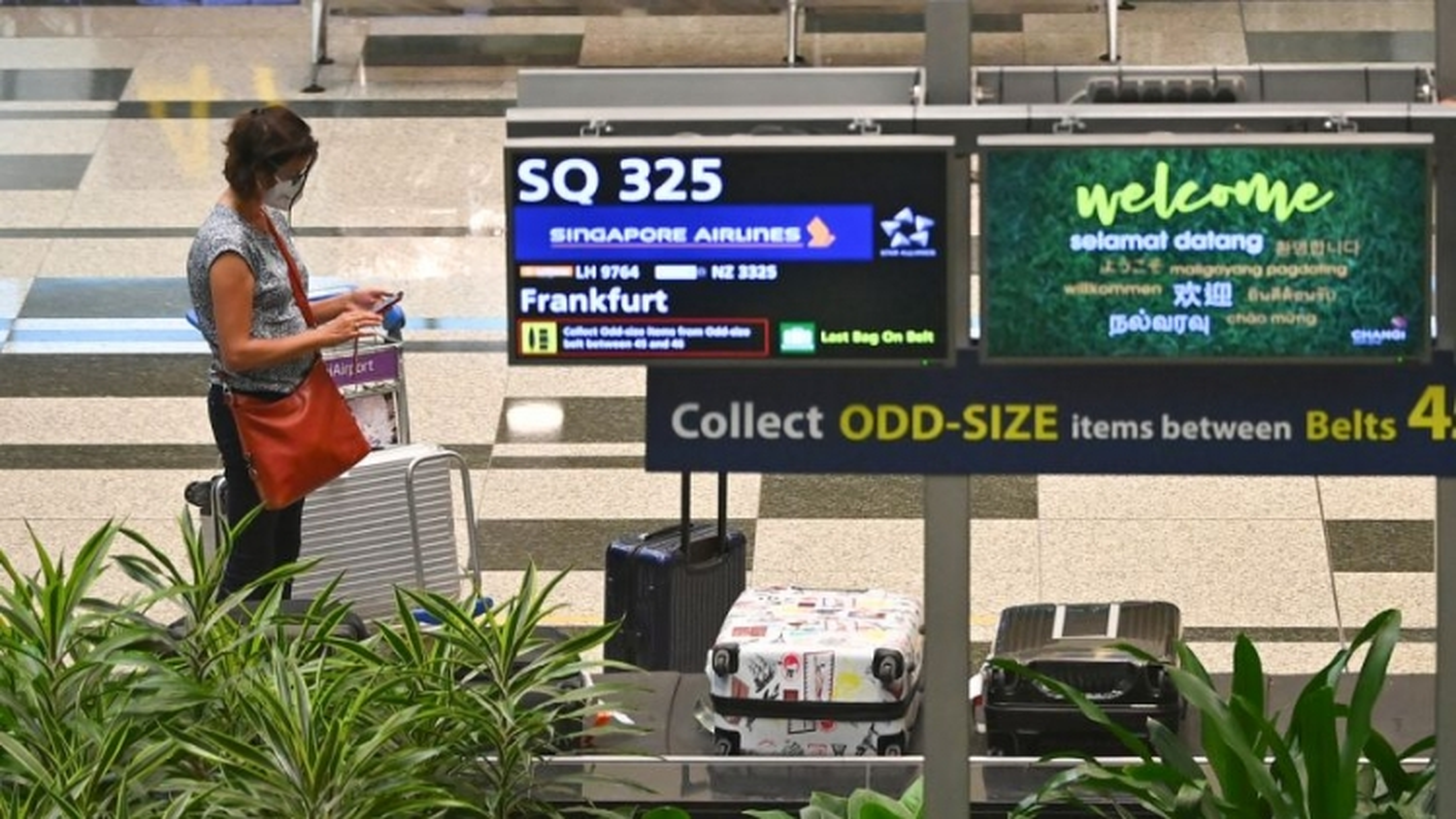 Đón 900 khách quốc tế, Singapore chỉ phát hiện 1 ca mắc Covid-19