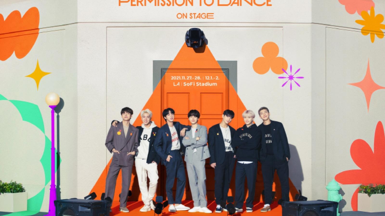 BTS tổ chức concert có khán giả đầu tiên sau 2 năm hoãn vì Covid-19