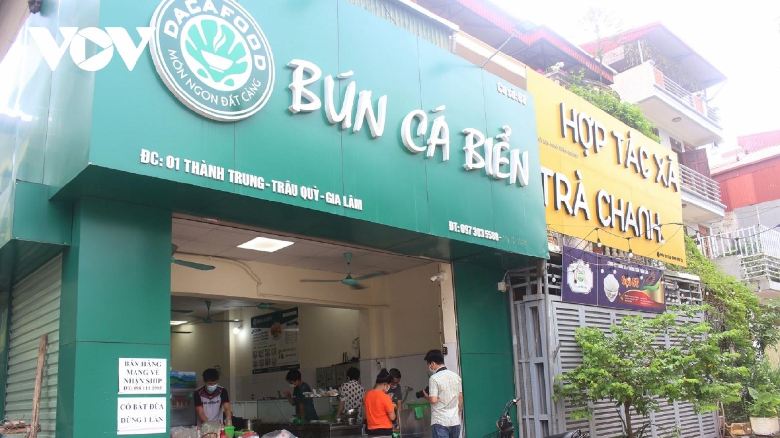 Những quận, huyện nào của Hà Nội được phép mở trở lại một số dịch vụ?