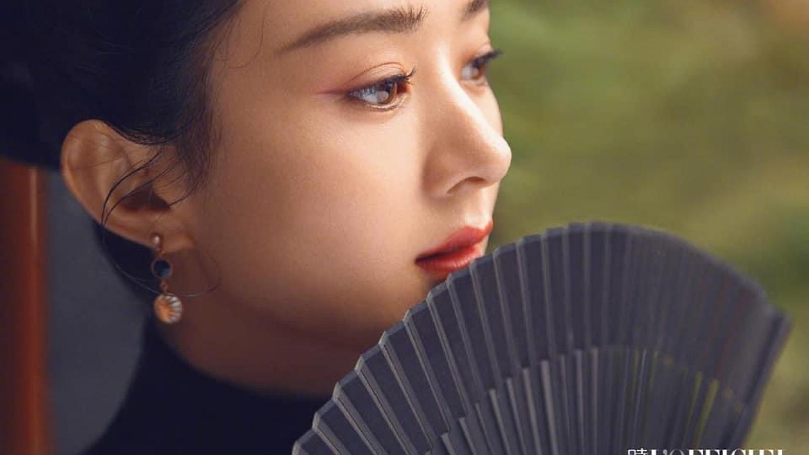 Hậu ly hôn, Triệu Lệ Dĩnh hoá nàng thơ kiêu sa trong loạt ảnh tạp chí