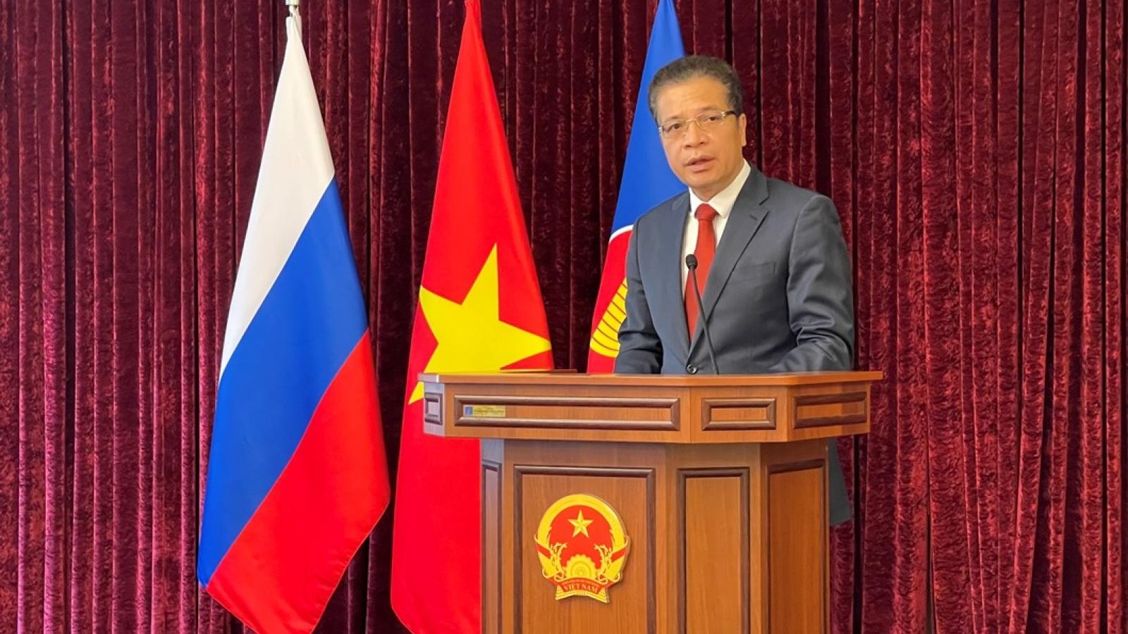 Đại sứ quán Việt Nam tại Nga long trọng kỷ niệm 76 năm Quốc khánh
