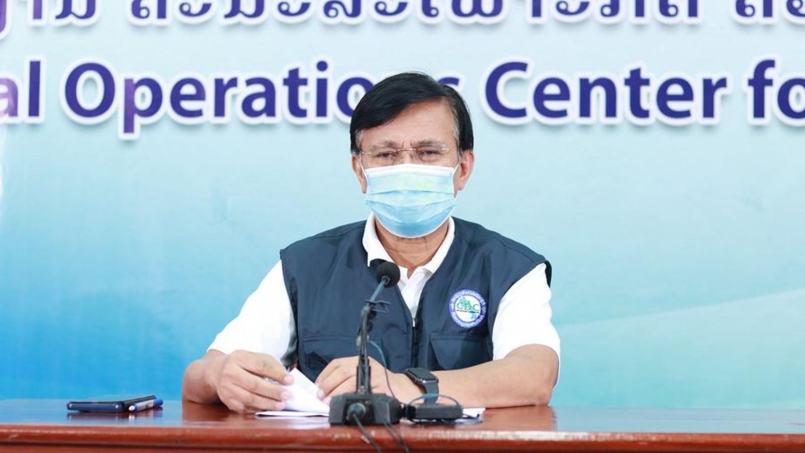 Số ca mắc Covid-19 trong cộng đồng tại Lào vẫn ở mức cao