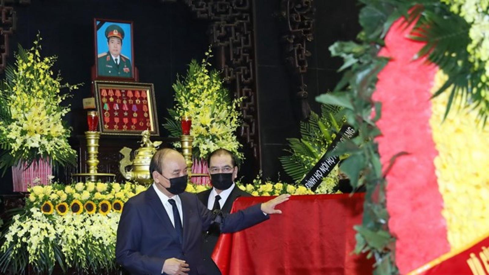 Đại tướng Phùng Quang Thanh là tấm gương Bộ đội Cụ Hồ tiêu biểu
