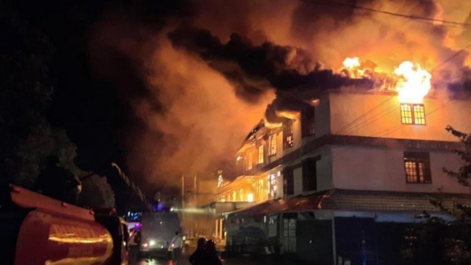 Cháy lớn ở nhà tù Indonesia, hơn 40 người thiệt mạng