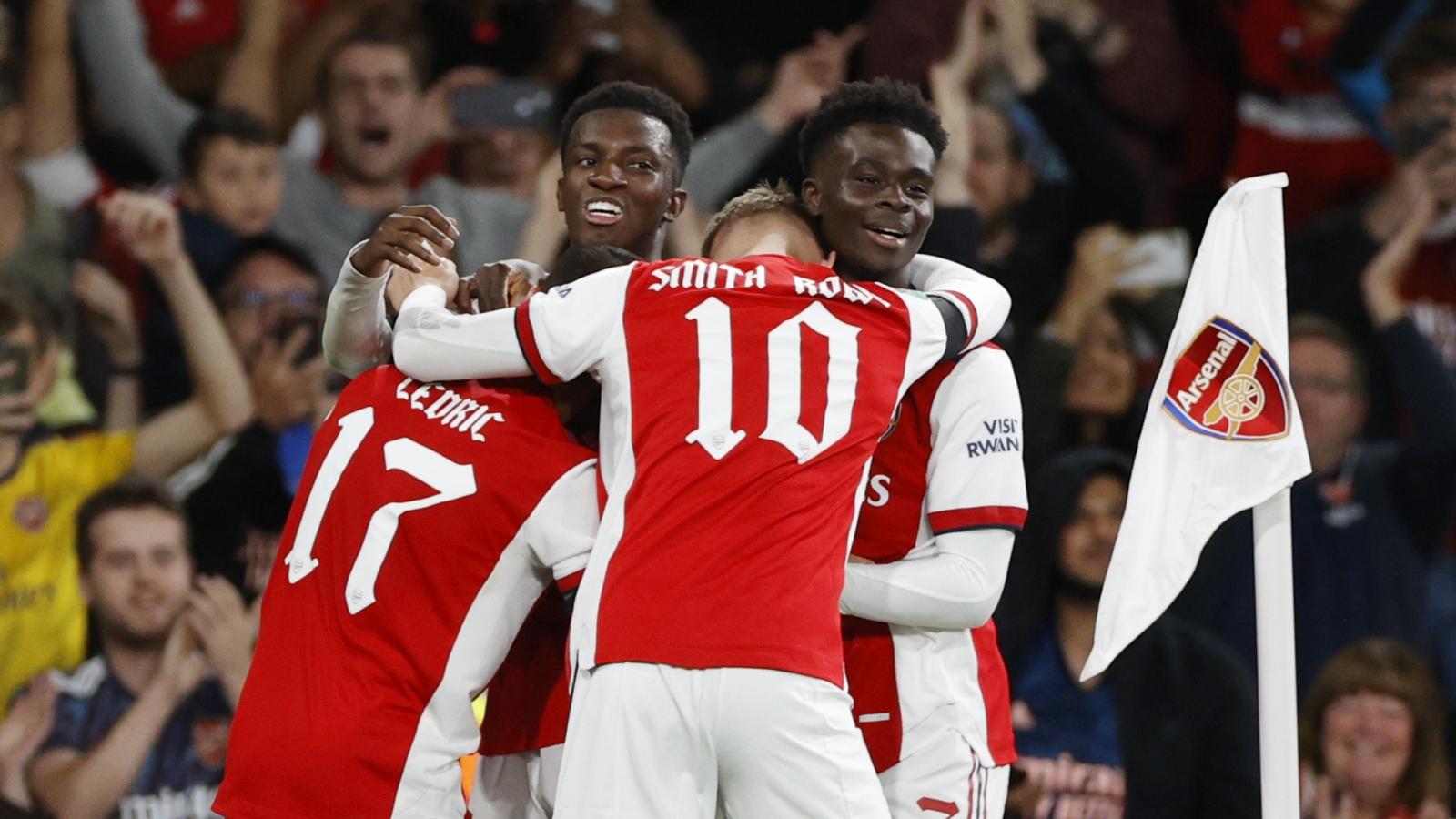 Lịch thi đấu bóng đá hôm nay 26-9: Arsenal quyết đấu với Tottenham