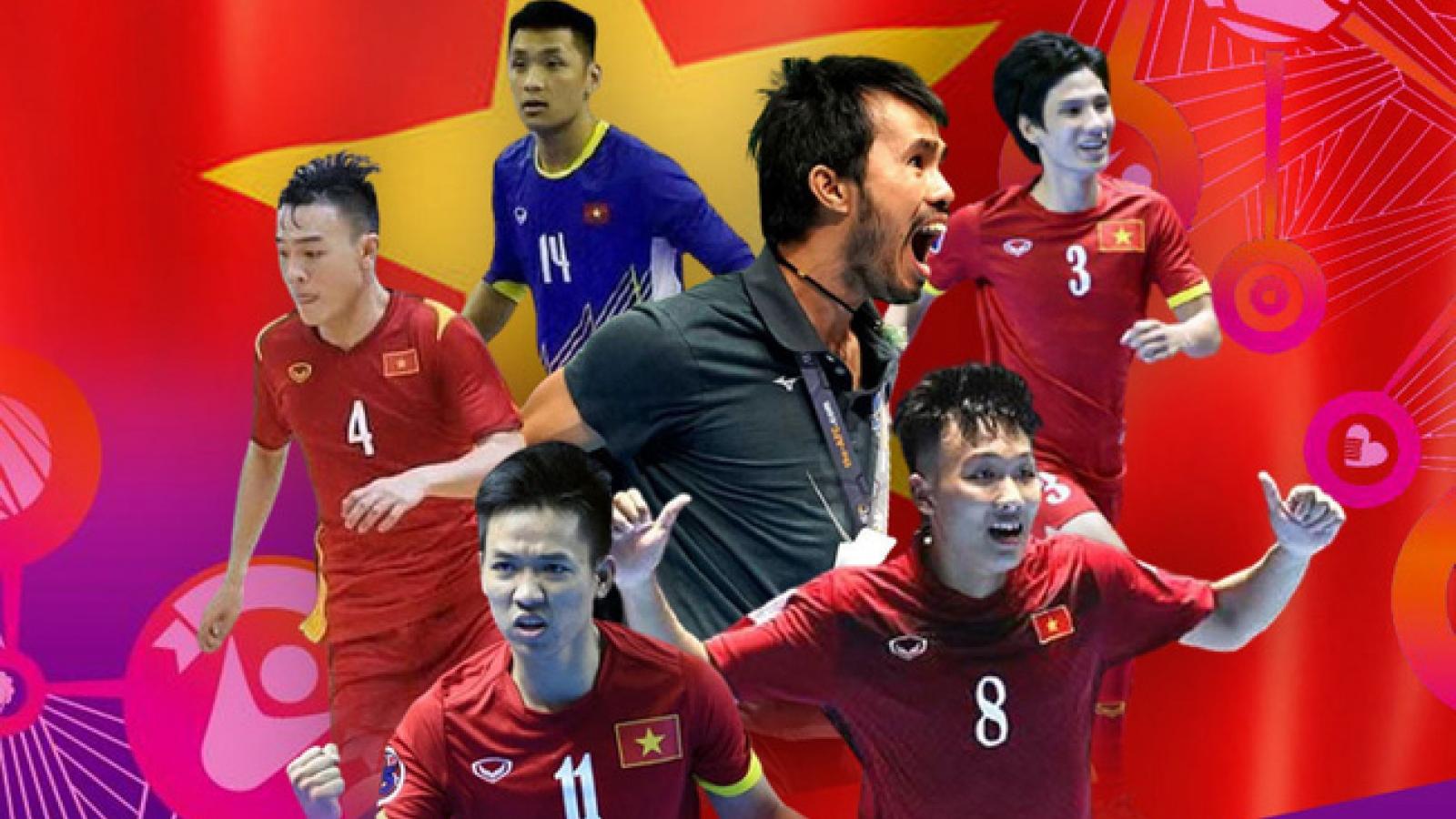 Lịch thi đấu và tường thuật trực tiếp ĐT Futsal Việt Nam tại FIFA Futsal World Cup 2021