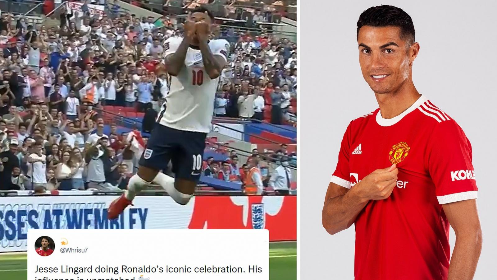 Lingard gây sốt với màn trình diễn 10 điểm và pha ăn mừng như Ronaldo