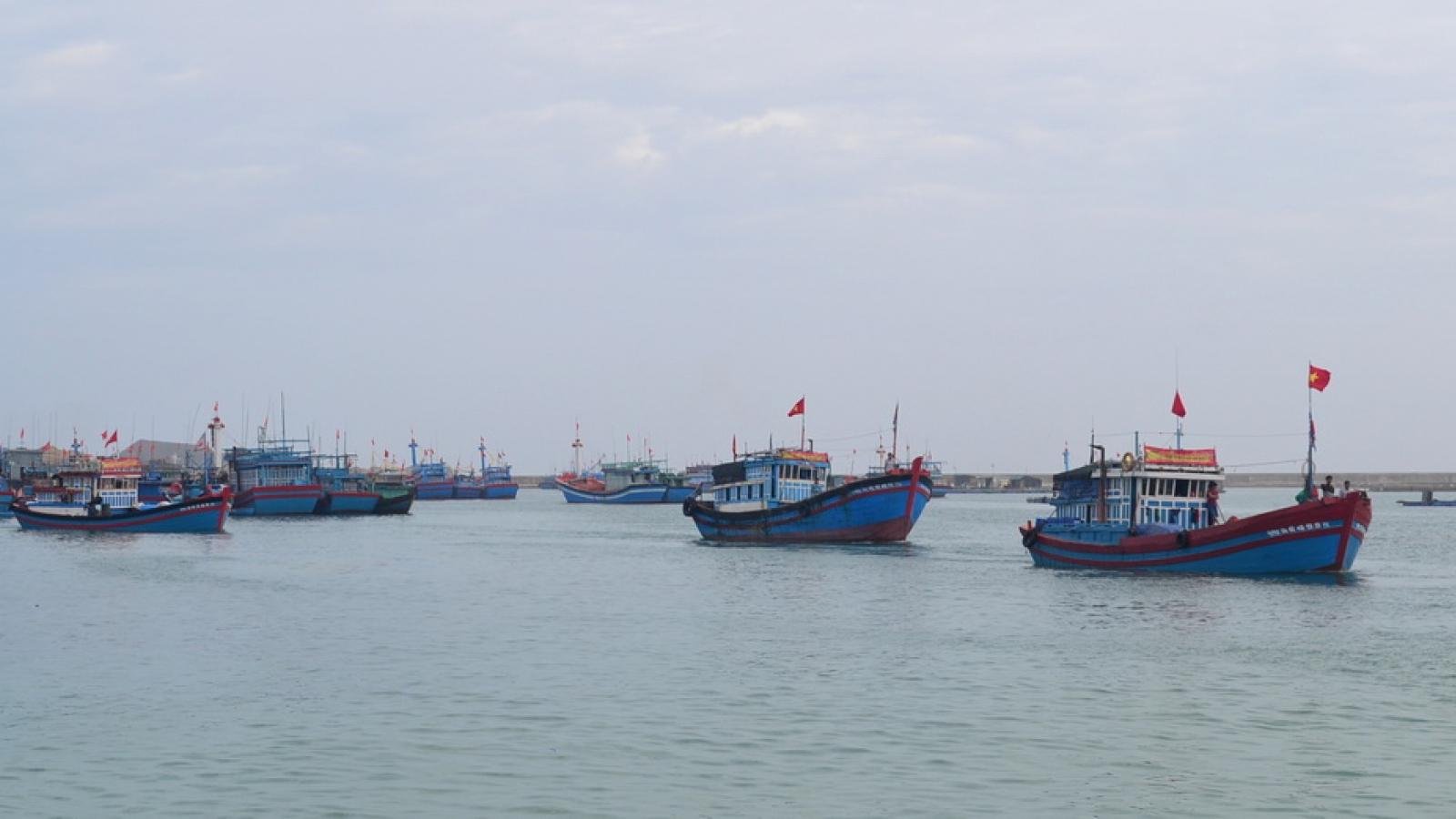 Quảng Ngãi vận động đưa 13 ngư dân Lý Sơn đi cách ly tập trung
