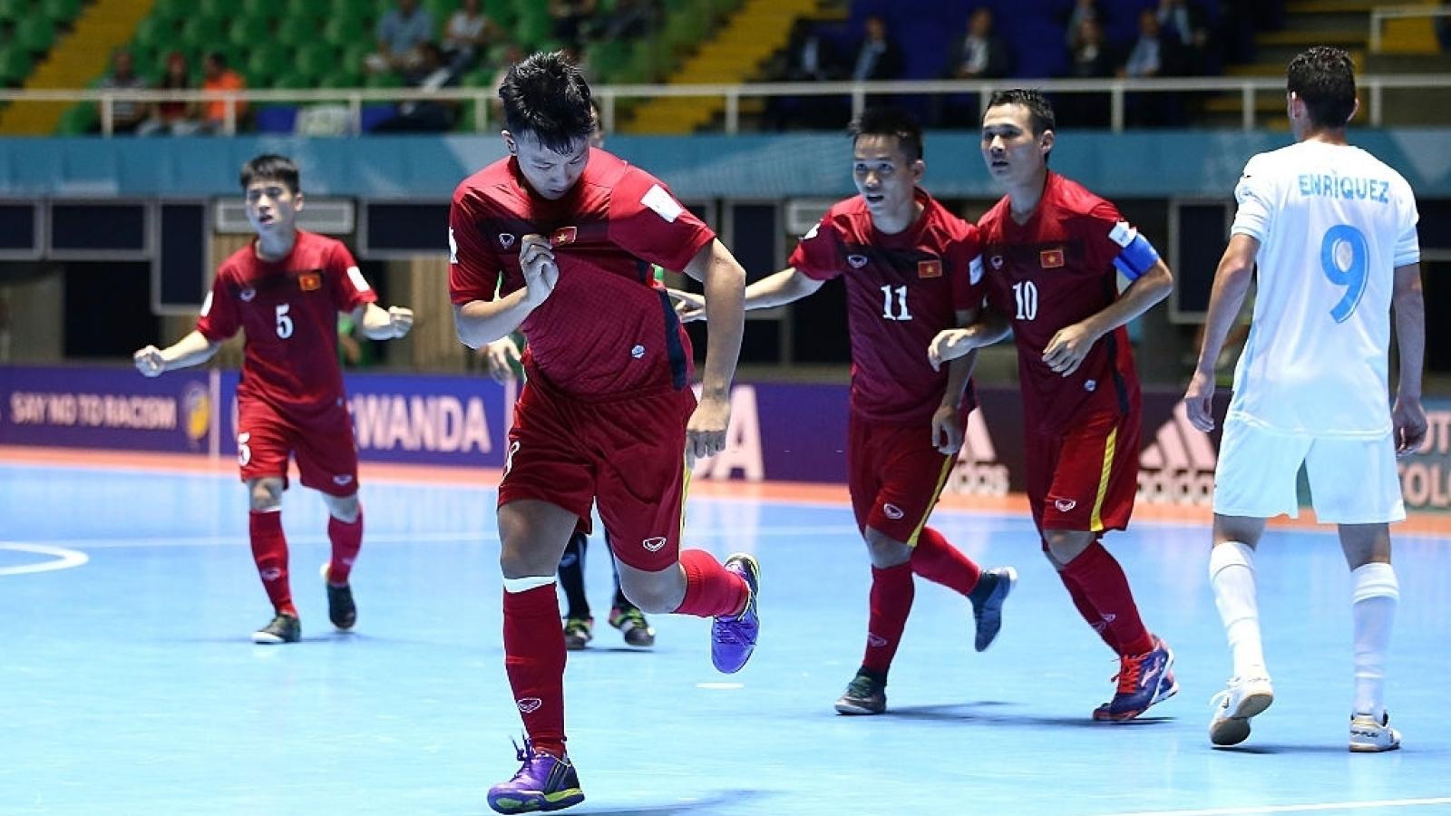 Ngày này năm xưa: ĐT Futsal Việt Nam có chiến thắng lịch sử ở World Cup