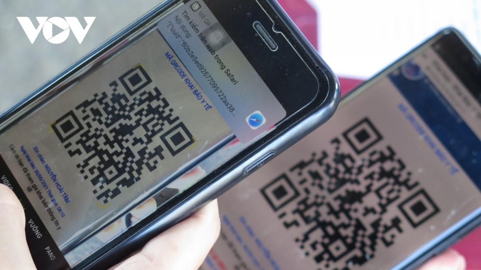 Thống nhất mã QR cá nhân dùng chung cho các ứng dụng, nền tảng công nghệ chống dịch