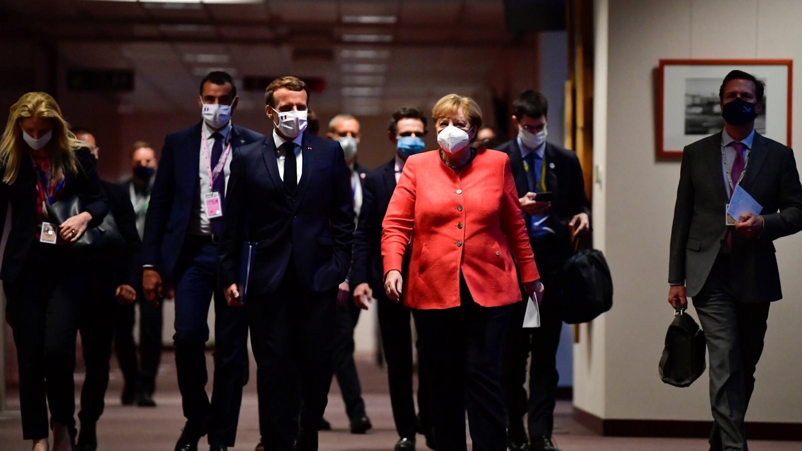 Cơ hội cho Tổng thống Pháp Macron trở thành người dẫn dắt EU sau bà Merkel?