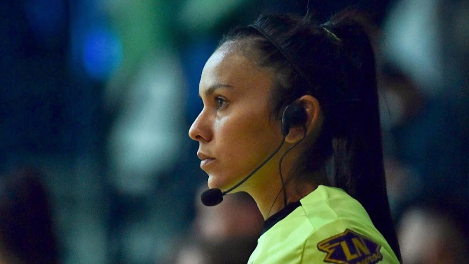 Nữ trọng tài người Argentina điều khiển trận ĐT Futsal Việt Nam - ĐT Futsal CH Séc