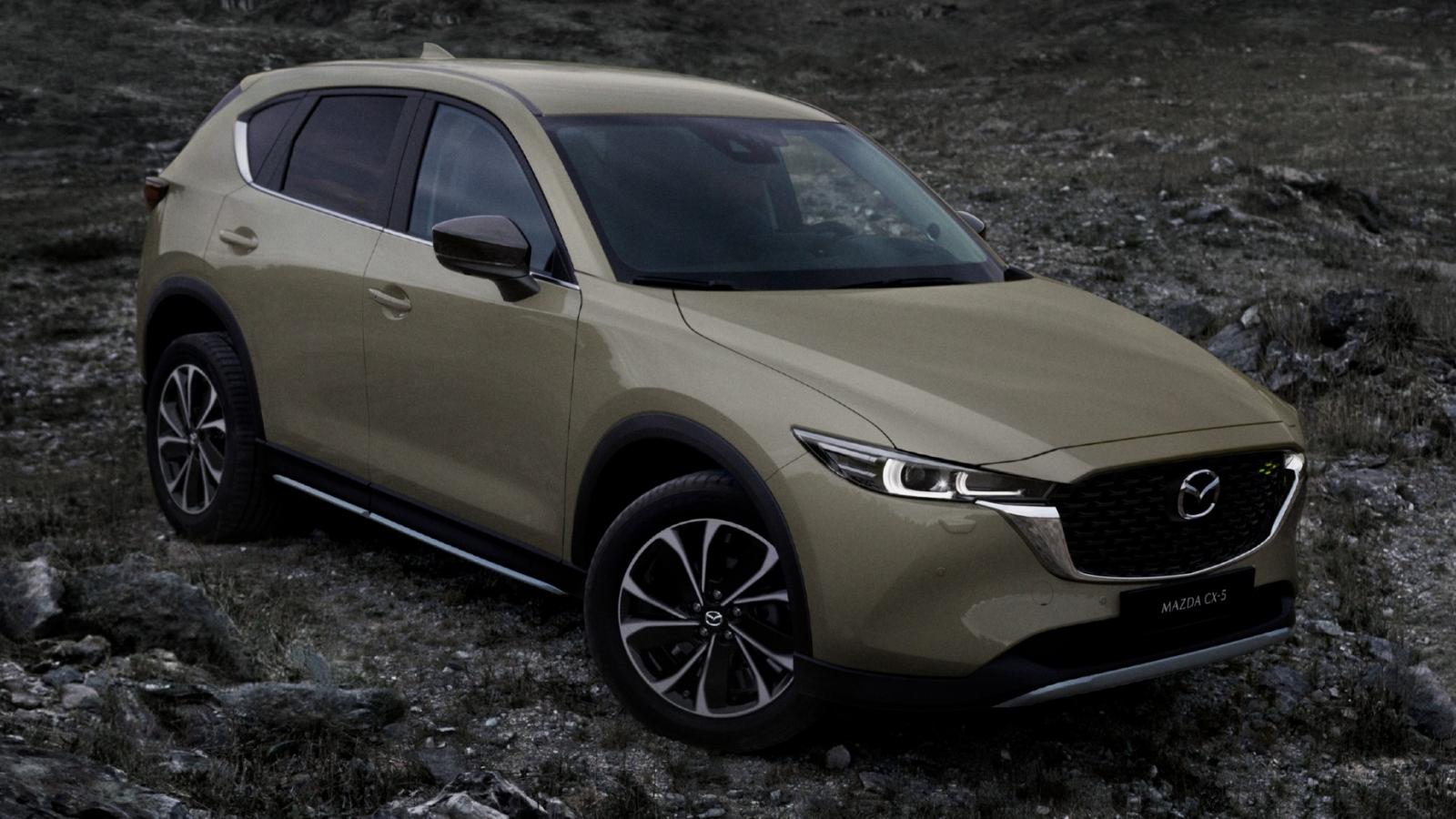 Hình ảnh chi tiết Mazda CX-5 bản nâng cấp vừa ra mắt