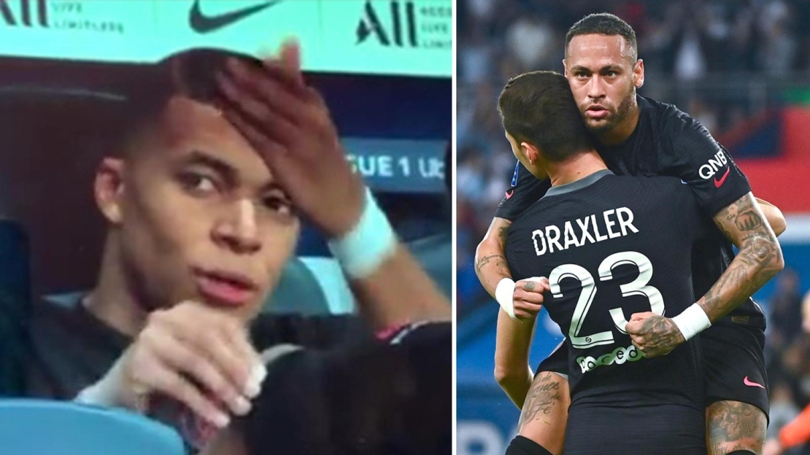 """PSG lục đục nội bộ, Mbappe """"tố"""" Neymar không chịu chuyền bóng"""