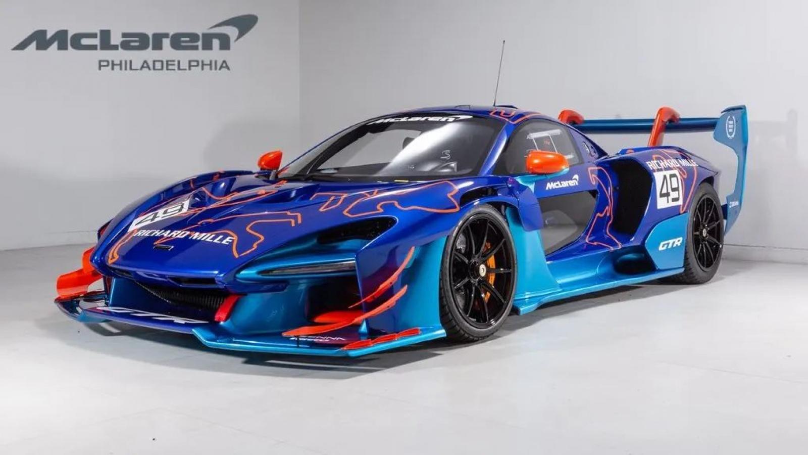 Cận cảnh McLaren Senna GTR cá nhân hóa đặc biệt