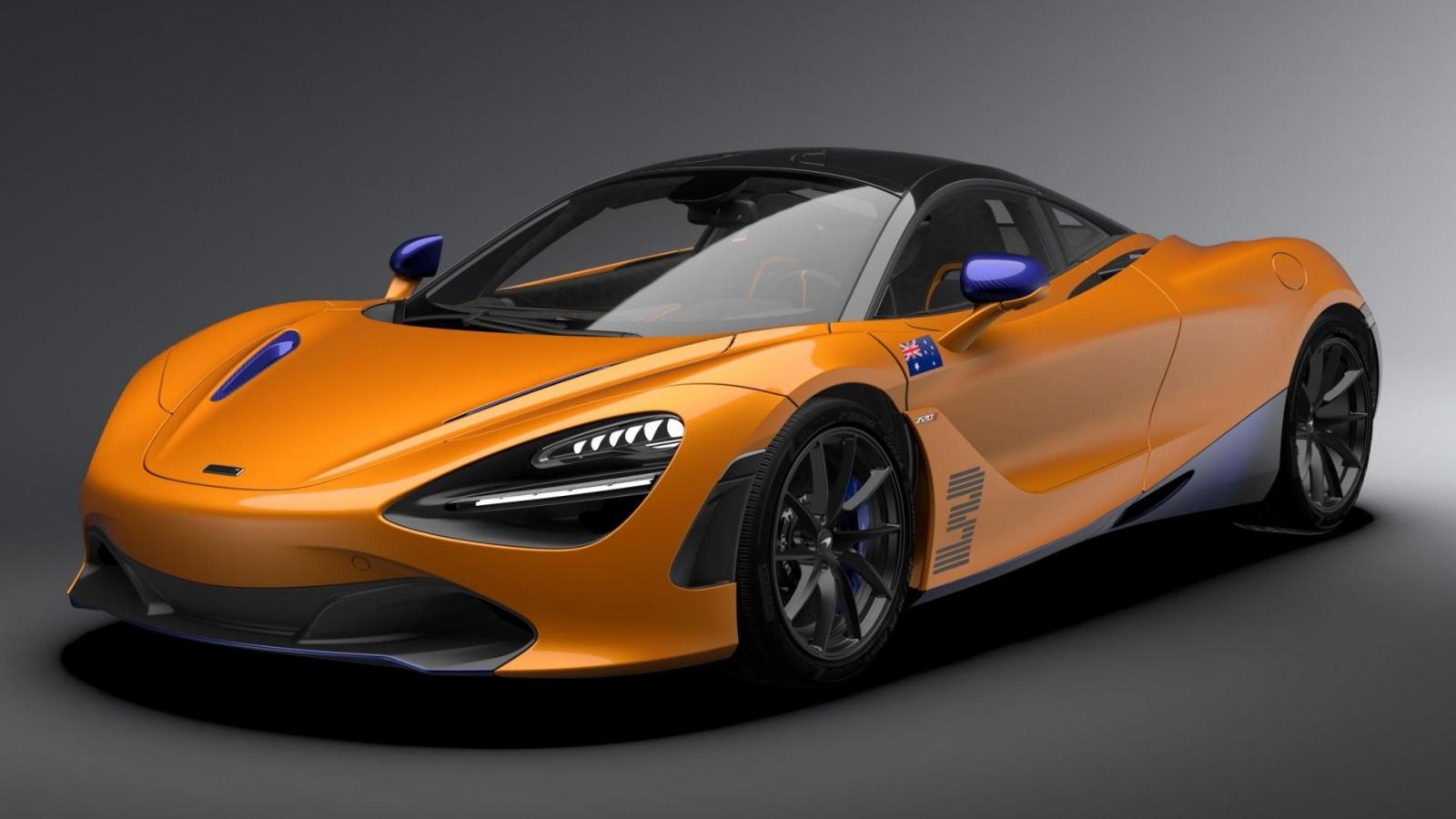 Cận cảnh McLaren 720S phiên bản đặc biệt vinh danh tay đua F1 Daniel Riacciardo