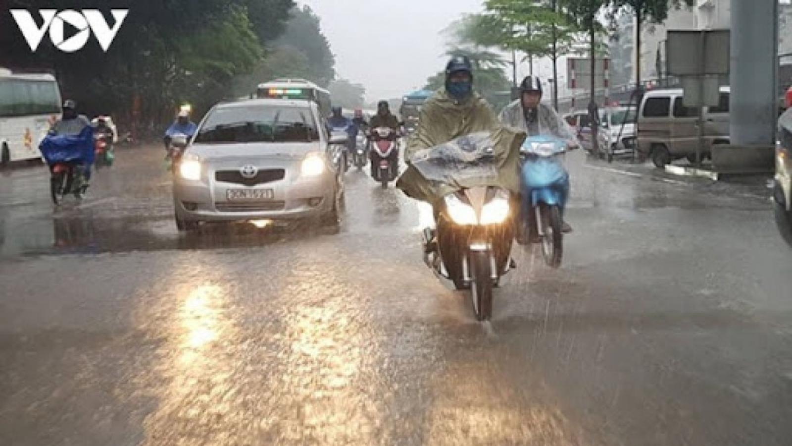 Thời tiết ngày 24/9: Dự báo 3 miền tiếp tục có mưa dông