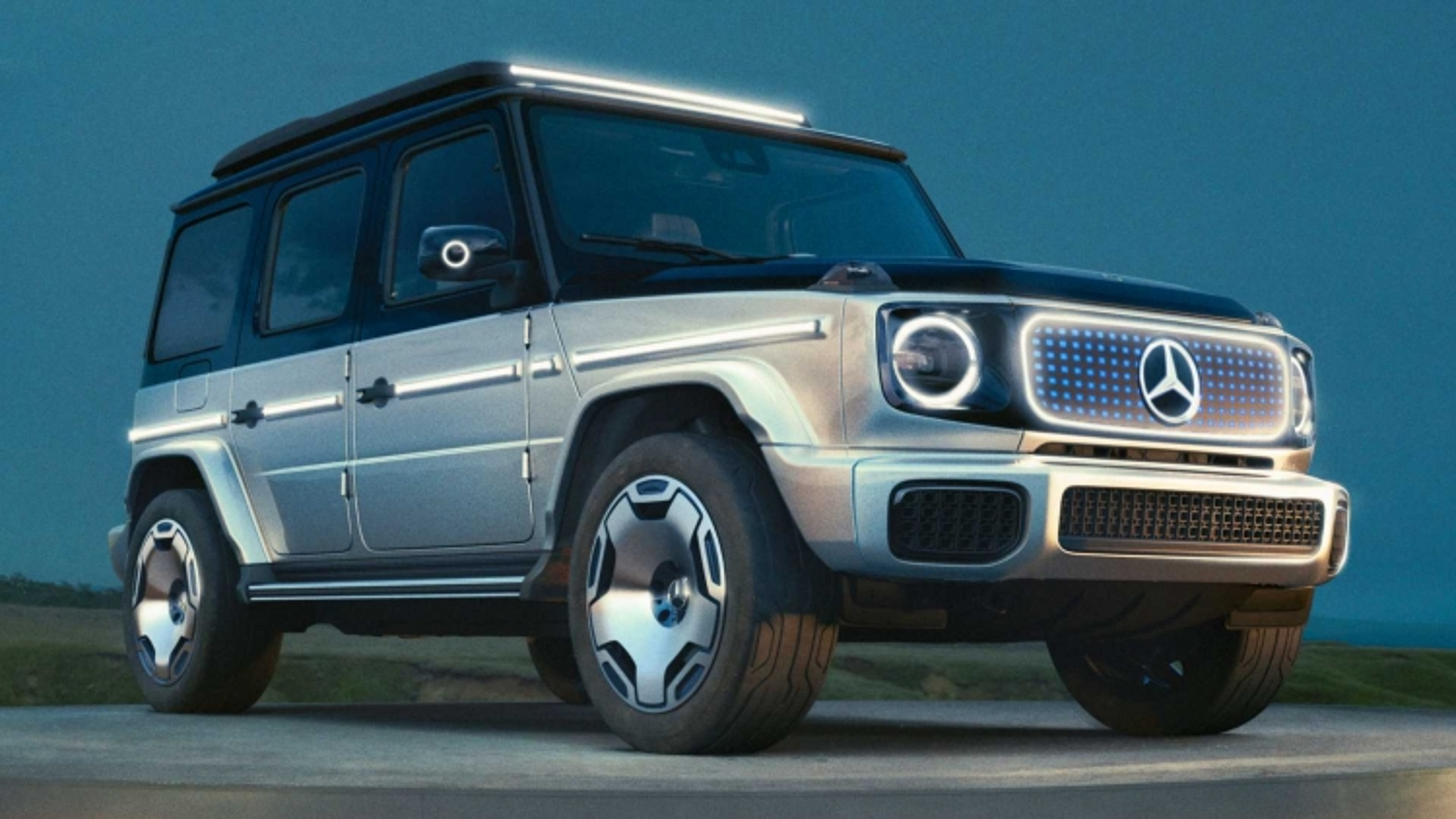 Mercedes-Benz G-Class concept chạy điện chính thức lộ diện