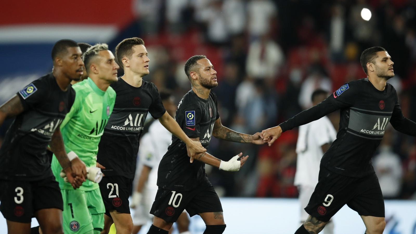 Messi và Ramos ngồi nhìn PSG nối dài mạch trận toàn thắng ở Ligue 1