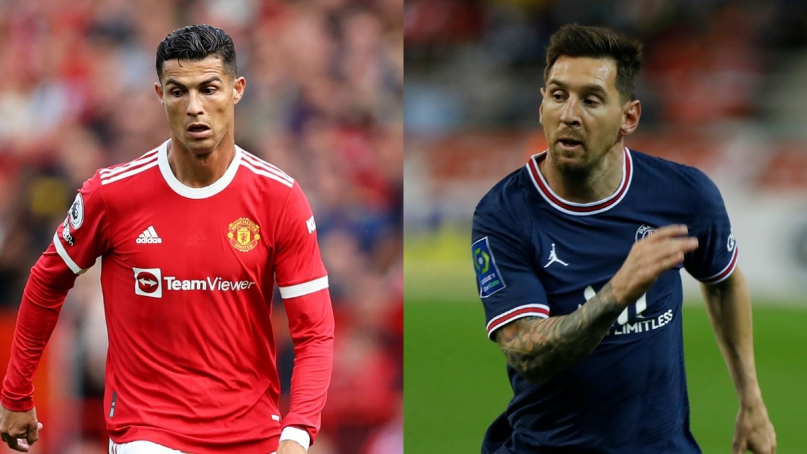 """""""Siêu máy tính"""" dự đoán Messi và Ronaldo khó vô địch Champions League 2021/2022"""