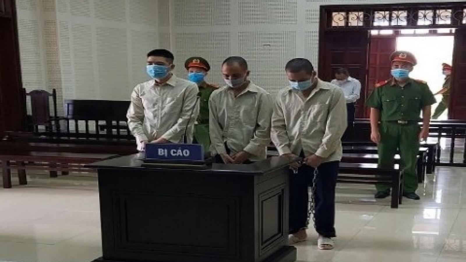 33 năm tù cho 3 đối tượng về hành vi mua bán trái phép chất ma túy ở Quảng Ninh