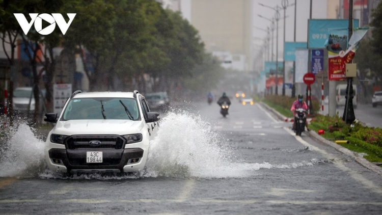 Central localities endure heavy rains following Conson weakening into tropical depression