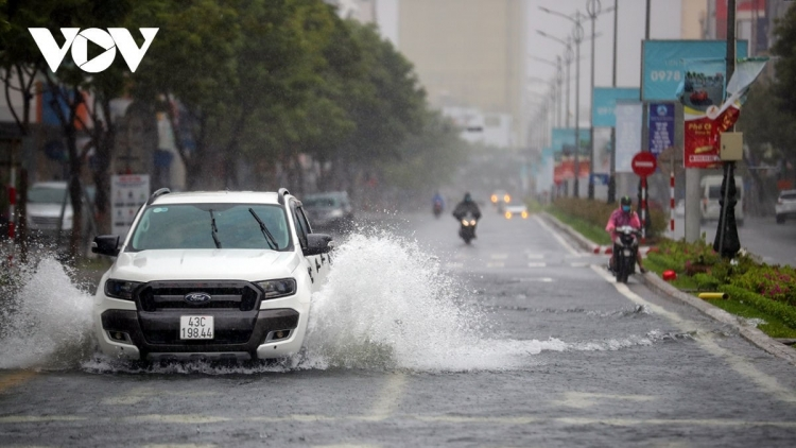 Thời tiết ngày 13/9: Nhiều tỉnh, thành có mưa lớn do ảnh hưởng bão số 5