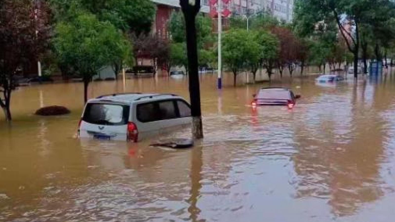 Gần 120 con sông có lũ trên mức báo động tại Trung Quốc