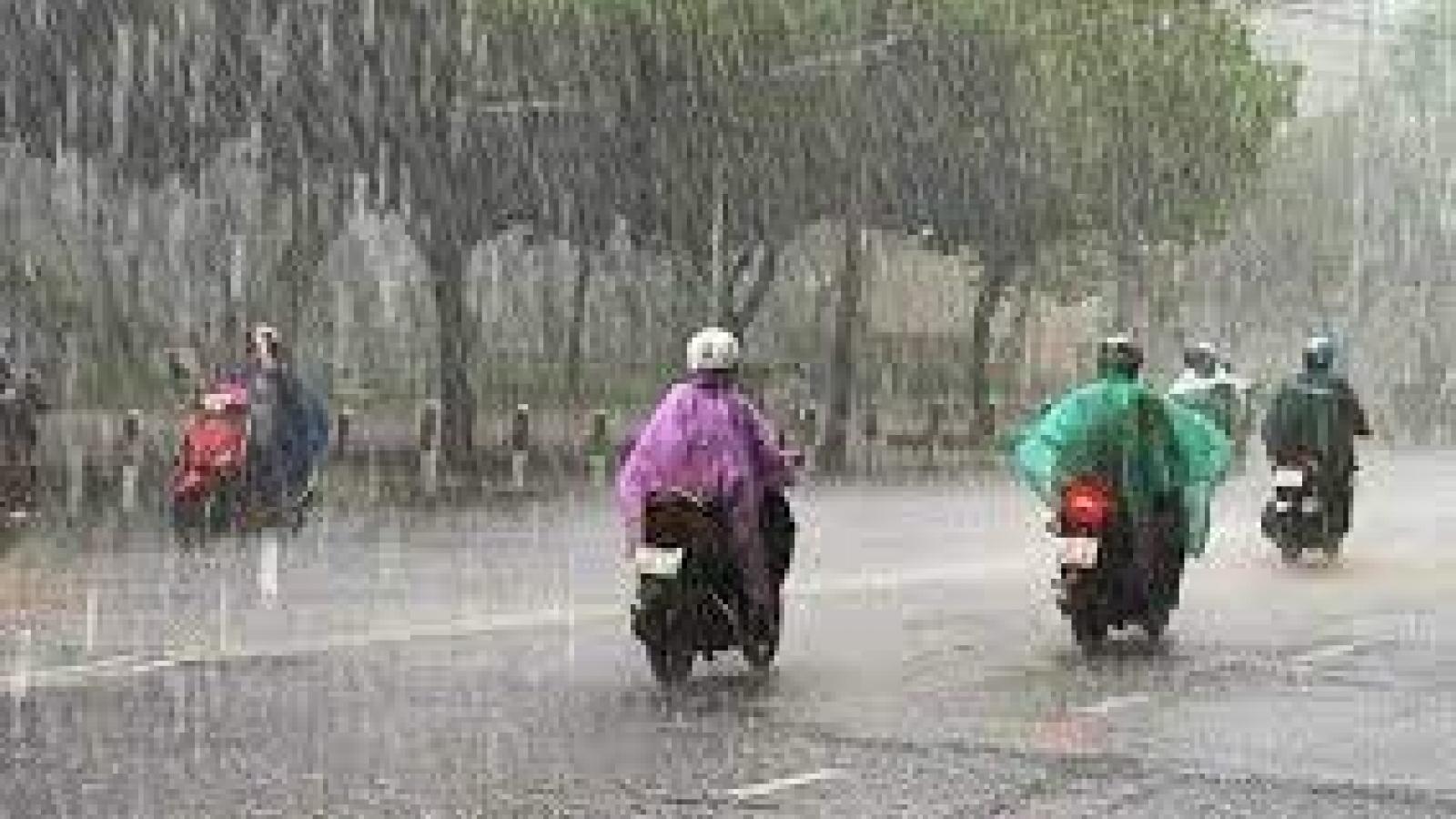 Thời tiết ngày 2/9: Nhiều nơi trên cả nước có mưa to đến rất to