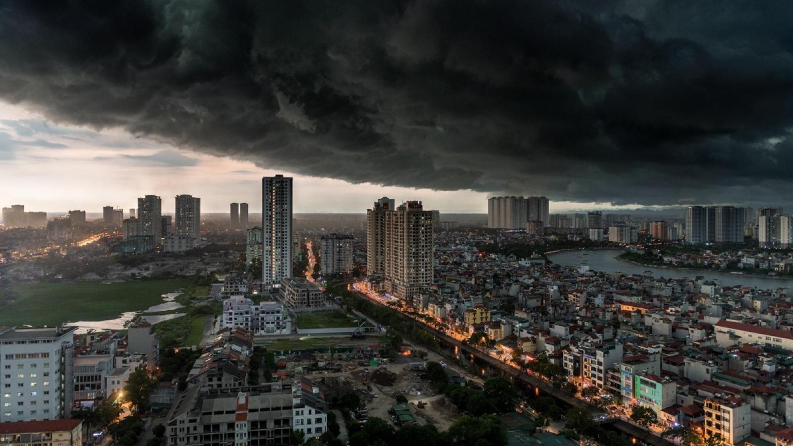 Thời tiết ngày 10/9: Dự báo mưa dông vào chiều tối và đêm trên cả nước