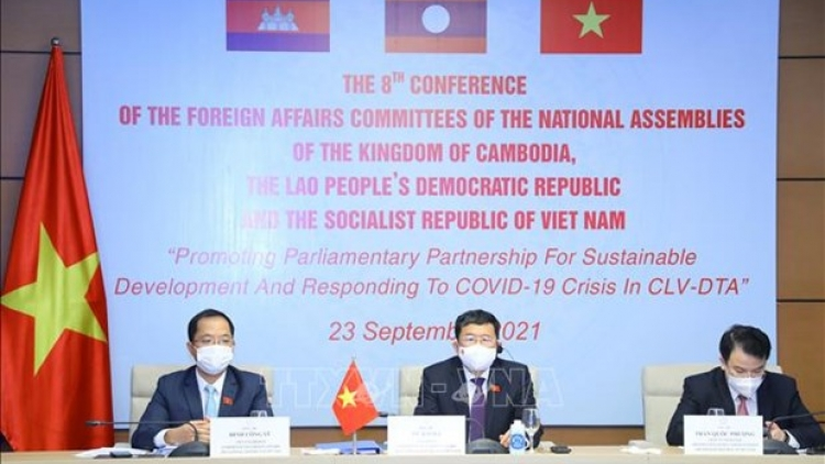 NA Committees for Foreign Affairs of Cambodia, Laos, Vietnam call for vaccine sharing