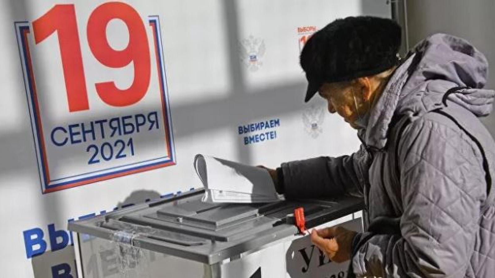 Cuộc bầu cử đại biểu DumaQuốc Ngadiễn ra minh bạch
