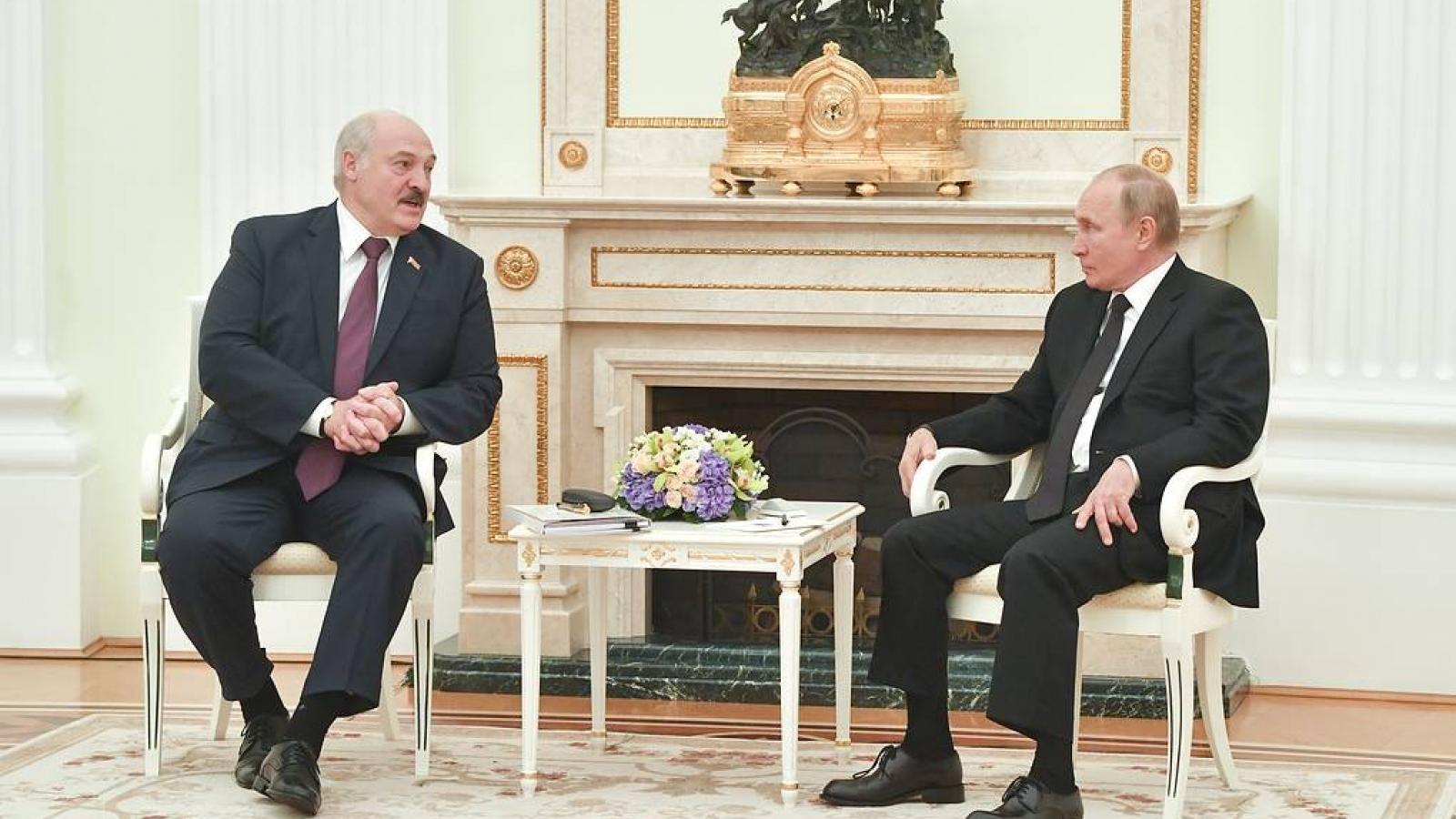Nga và Belarus đã đạt được các thỏa thuận về hội nhập quốc gia Liên minh