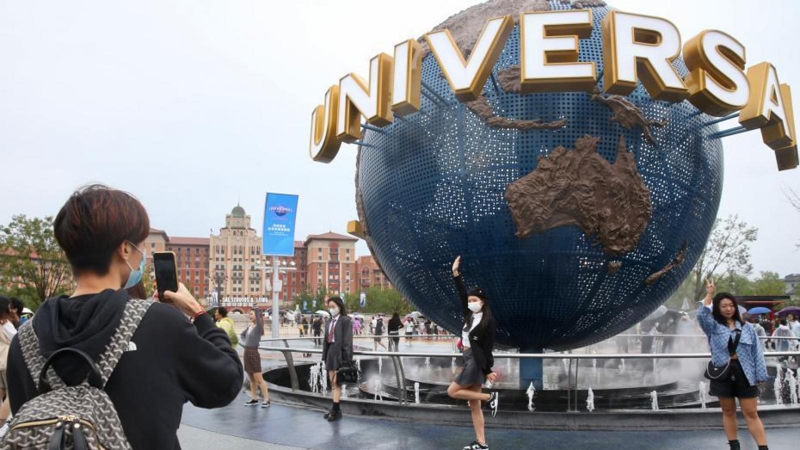 Siêu công viên giải trí Universal Studios lớn nhất thế giới khai trương tại Bắc Kinh