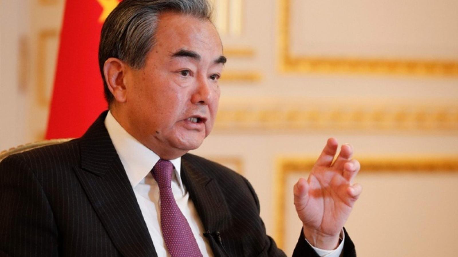 Ngoại trưởng Trung Quốc Vương Nghị điện đàm với Ngoại trưởng Mexico Marcelo Ebrard