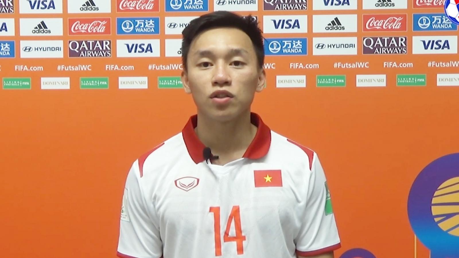 Nguyễn Văn Hiếu nói gì về khoảnh khắc xuất thần giúp ĐT Futsal Việt Nam thắng trận?