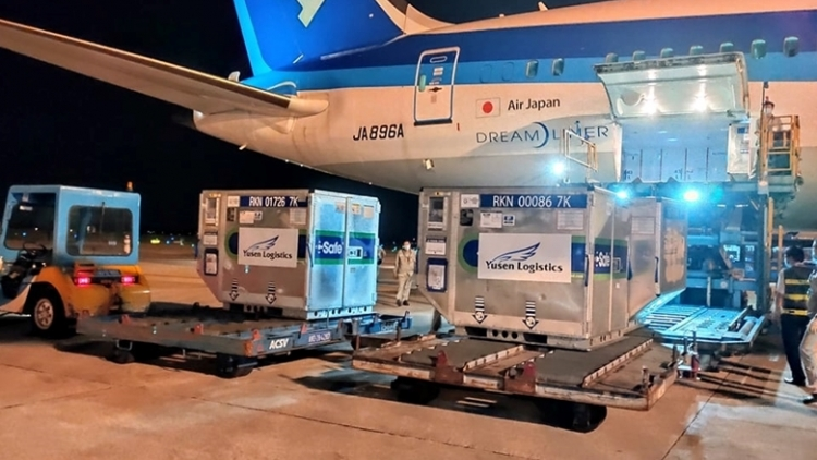 Japanese donated COVID-19 vaccines set to arrive on Sept. 25