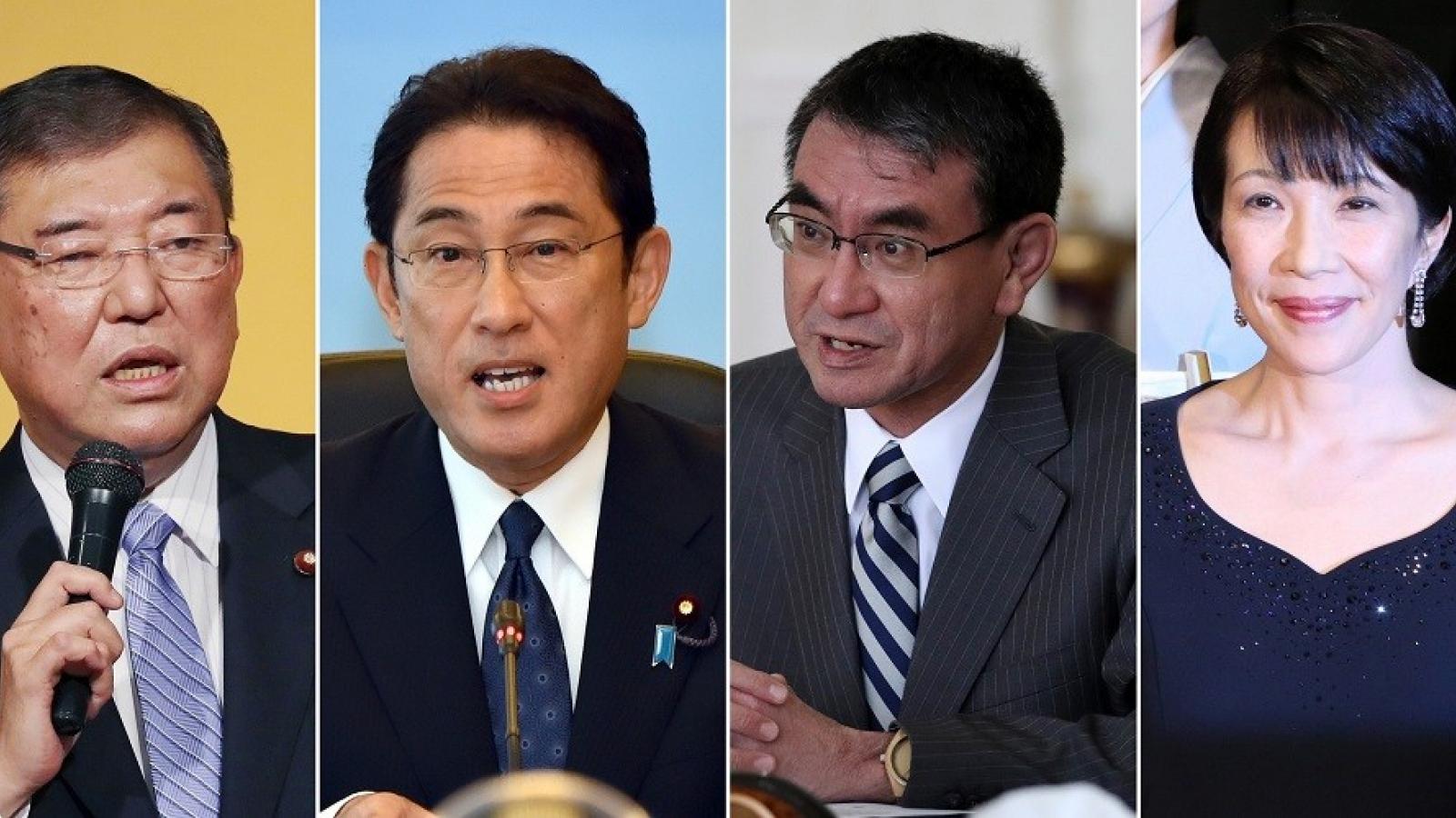 Thăm dò bầu cử LDP: Ông Kono và Kishida chiếm ưu thế