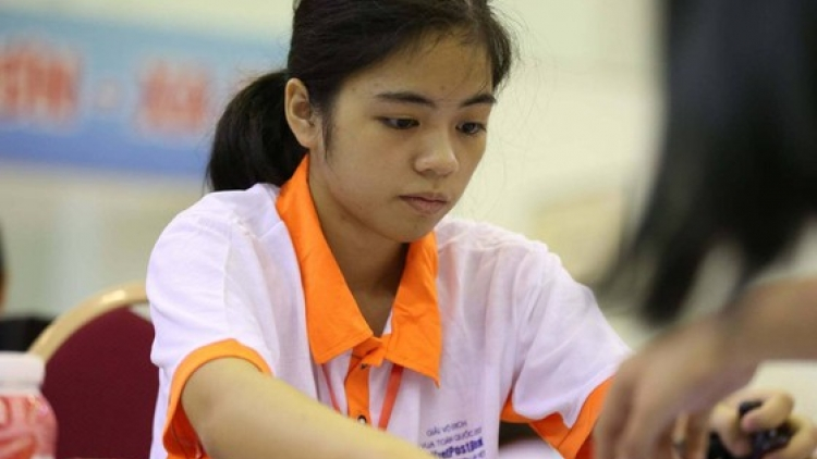 Hong Nhung wins Youth Rapid World Cup 2021