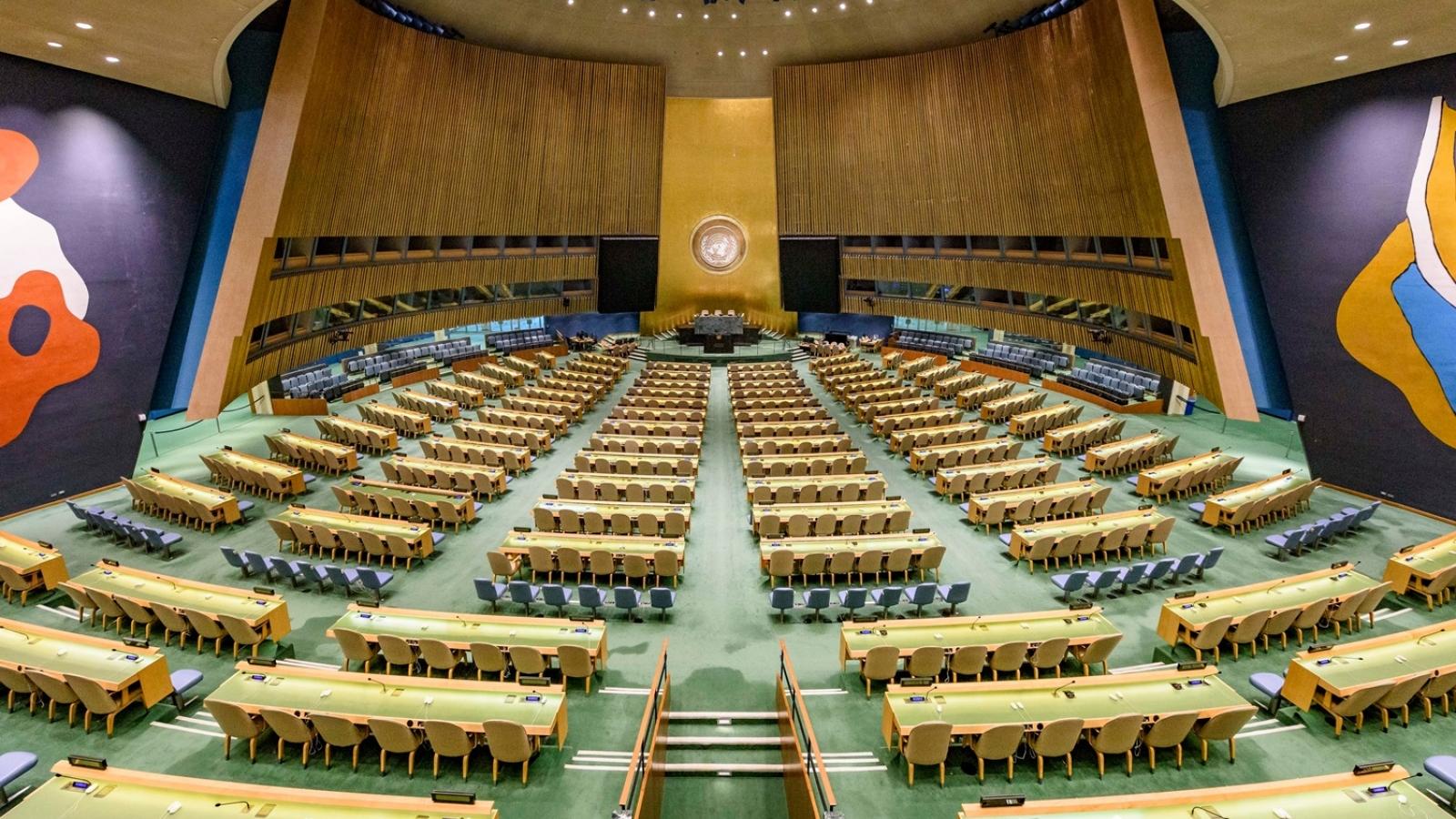 Hơn 100 nhà lãnh đạo thế giới trực tiếp tham dự Khóa họp Đại hội đồng Liên Hợp Quốc