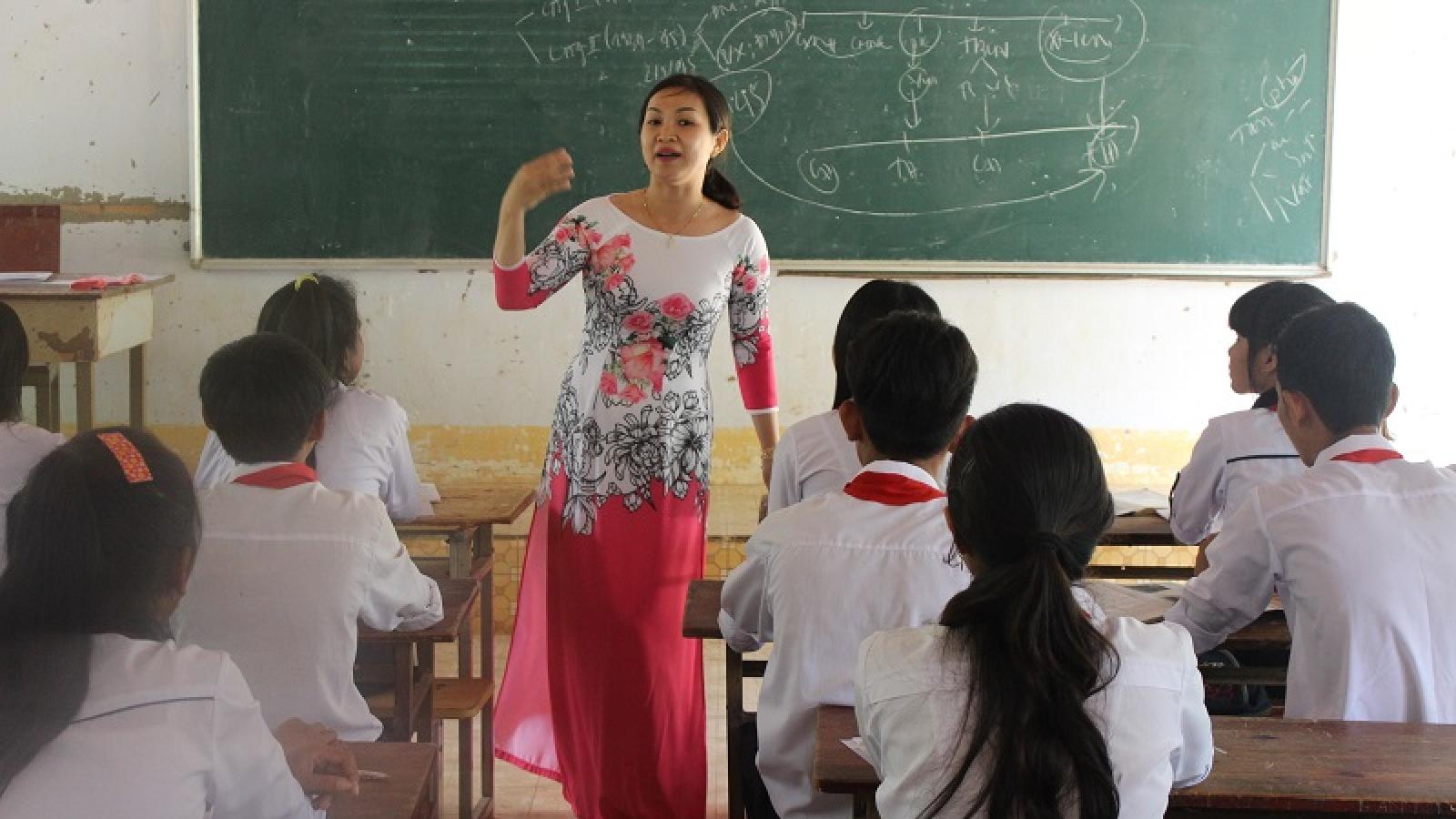 Ninh Thuận điều chỉnh thời gian học năm học 2021-2022